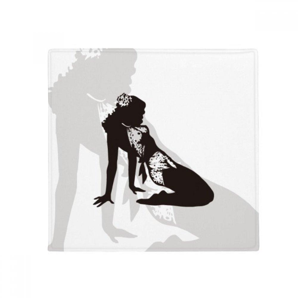 DIYthinker Hot Woman Girl Uniforms Anti-Slip Floor Pet Mat Square Home Kitchen Door 80Cm Gift