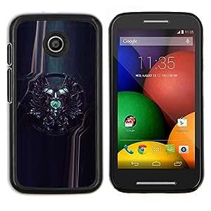 "For Motorola Motorola Moto E / XT1021 / XT1022 , S-type Sci Fi Crest"" - Arte & diseño plástico duro Fundas Cover Cubre Hard Case Cover"
