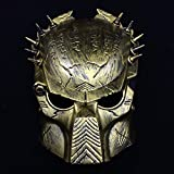 SaveStore Predator Mask Halloween Horror Masquerade Fancy Dress Party Cosplay Costume Scary Mask for Halloween Party