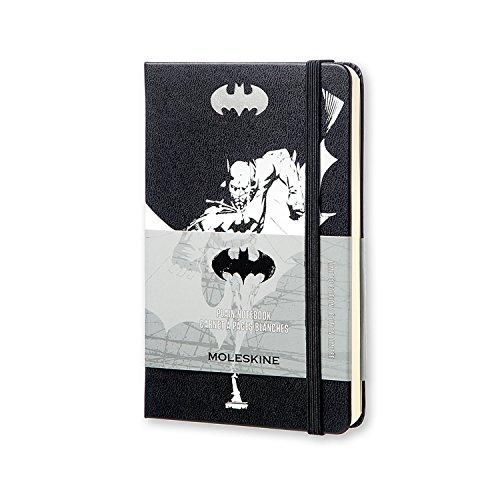 Moleskine Batman Limited Edition Notebook, Pocket, Plain, Black, Hard Cover (3.5 x 5.5)