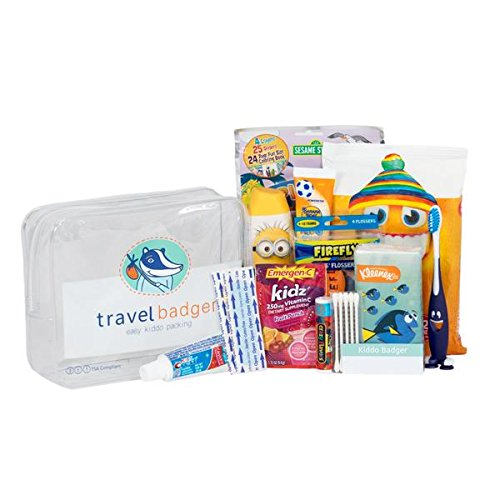 Kiddo Badger Travel Convenience Kit (Badger Airline)