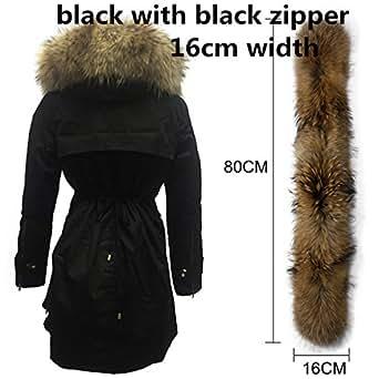 Amazon.com: Dapengzhu New Winter Jacket Women Real Large