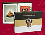 VALENTINES GIFT New Set 2 x 54 Playing Cards Deck Ukrainian Board Games House of Romanov 2009