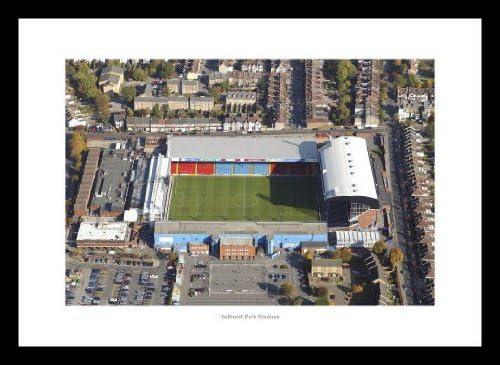 Con marco Crystal Palace Selhurst Park del estadio del FC, shalke antena View x