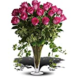 Dreaming in Pink - Long Stemmed Pink Roses - Anniversary Flowers