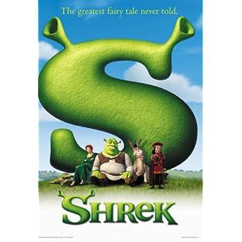 amazoncom shrek movie poster prints posters amp prints