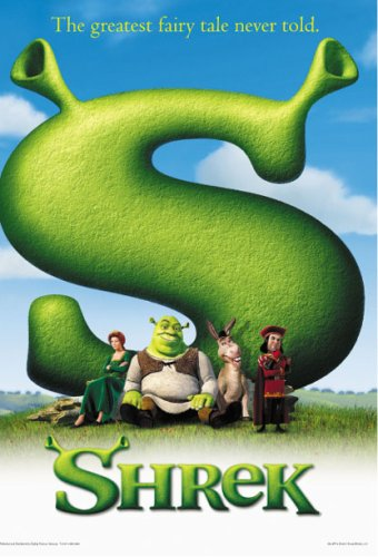 Amazoncom Shrek Movie Poster Prints Posters Prints
