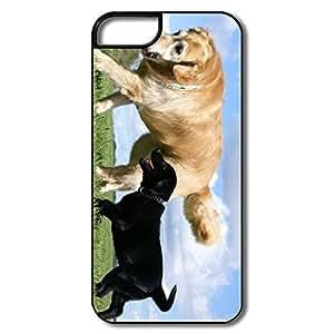 IPhone 5S Cases, Golden Labrador Retriever White/black Case For IPhone 5S