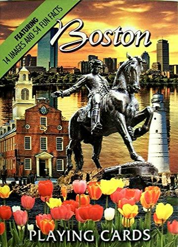 Boston Massachusetts Souvenir Playing - Card Boston