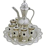 Beautiful Oriental Coffee and Tea Serving Set - Decoration only