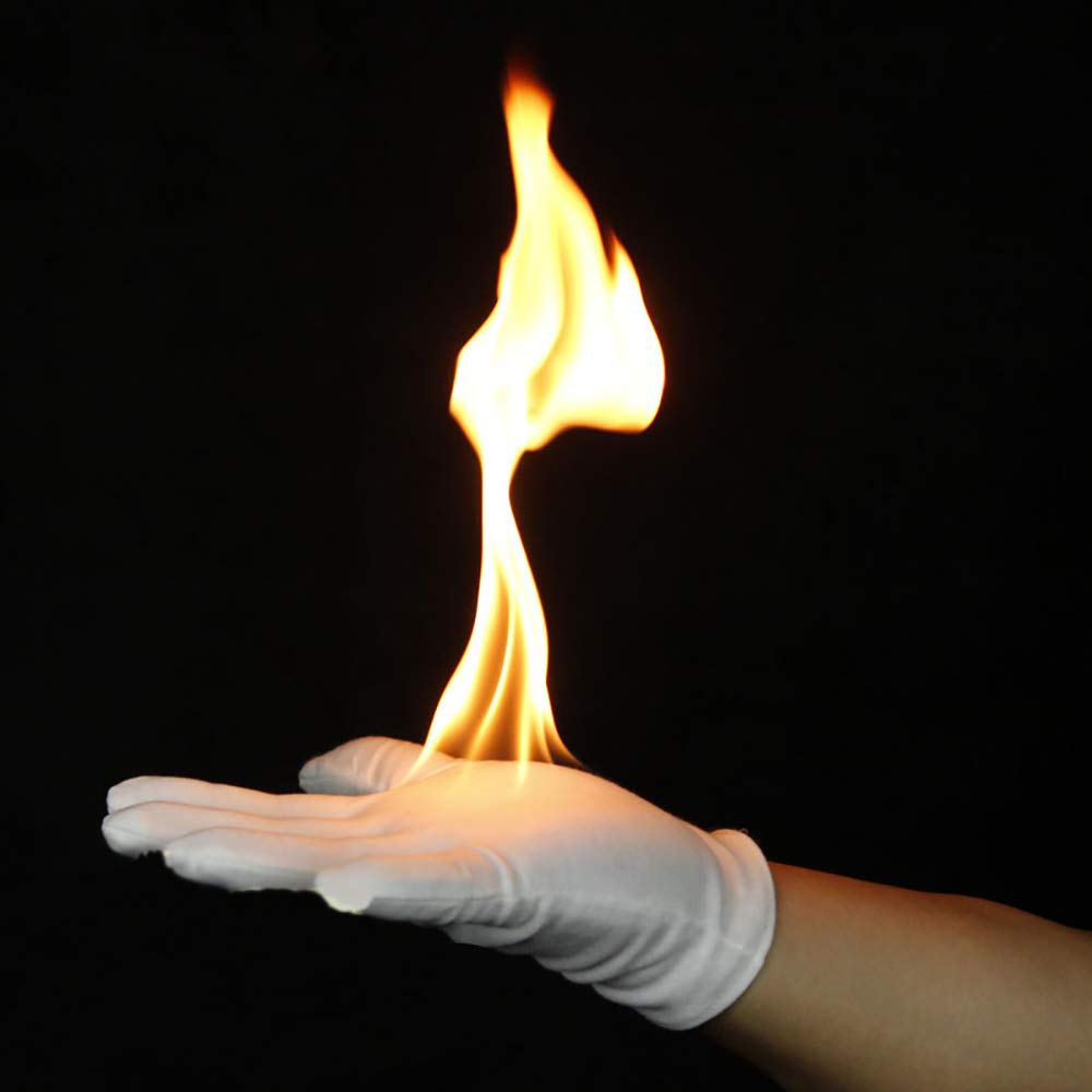 6ca49c38bf6 Amazon.com  Enjoyer Fire Gloves Magic Tricks Burning Gloves Empty-Handed On  Fire Close Up Magic Props for Stage Magician  Toys   Games
