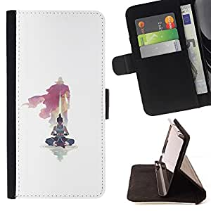 Momo Phone Case / Flip Funda de Cuero Case Cover - Yoga Maestro;;;;;;;; - HTC DESIRE 816