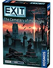 EXIT: The Cemetery of The Knight – Card Games Adults and Kids - 1–4 Players – 1-2 Hours of Gameplay – Games for Family Game Night – Card Games for Kids and Adults Ages 12+ - English Version