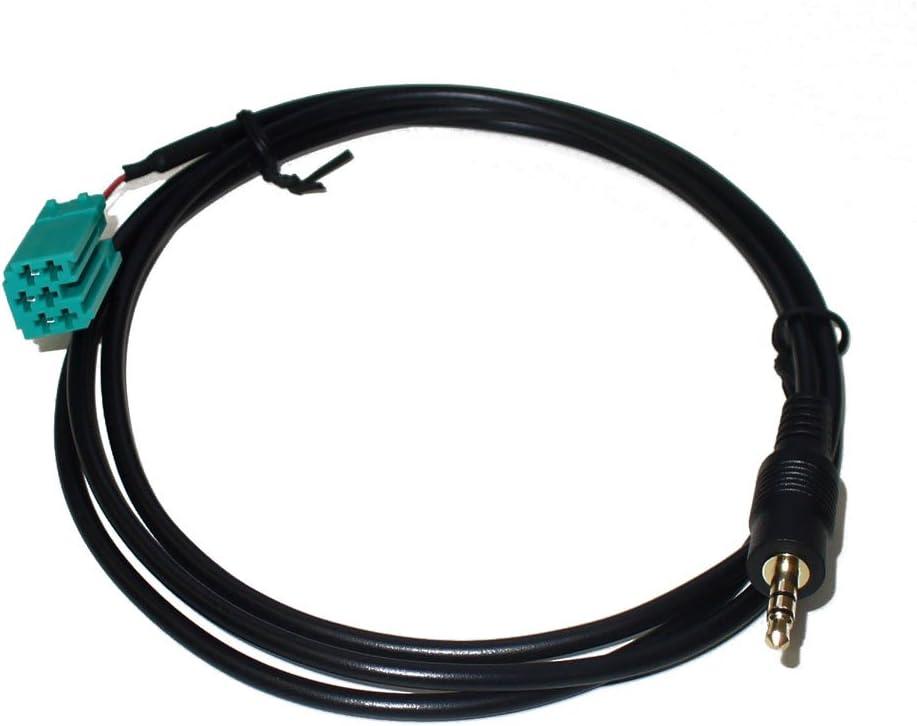 Aux Adapter 3 5mm Klinke Für Renault Mit Carminat Radio Elektronik
