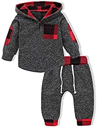 Kids Toddler Baby Boys Girls Christmas Outfit Winter Xmas...