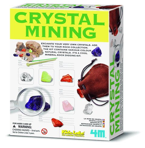 Crystal Mining - Excavation Kit - Find Fool's Gold or Pyrite