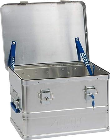 ALUTEC CLASSIC 30 Caja metálica para herramientas Aluminio Metálico - Piezas pequeñas y cajas de herramientas (Caja metálica para herramientas, Aluminio, Metálico, 30 L, Llave, Coche): Amazon.es: Bricolaje y herramientas