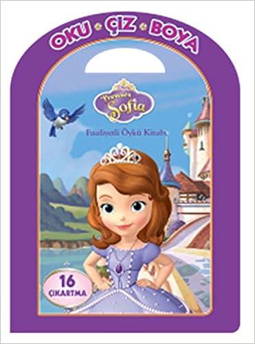 Disney Oku Ciz Boya Prenses Sofia Faaliyetli Oyku Kitabi Kolektif