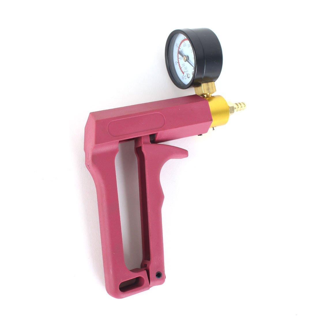 13PC Hand Held Vacuum Pressure Pump Tester Kit Brake Fluid Bleeder Car Motorbike Bleeding Set by Copap (Image #3)