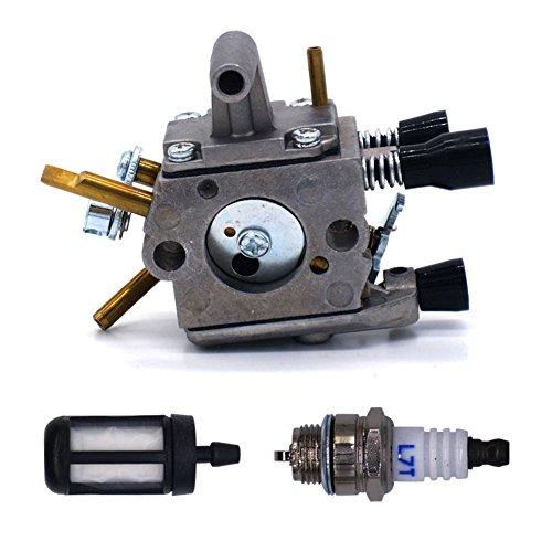 FitBest Carburetor with Spark Plug Fuel Filter for Stihl ...