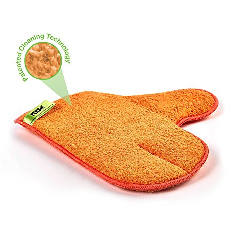 - Pure-Sky Magic Microfiber Dusting MITT – Ultra Microfiber Cleaning Cloth Glove – JUST ADD Water No Detergents Needed – Use for Cleaning Furniture, Home Appliances, Screens, Electronics