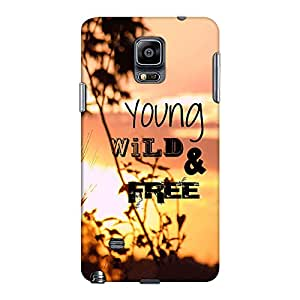 DailyObjects Young Wild And Free Case For Samsung Galaxy Note 4