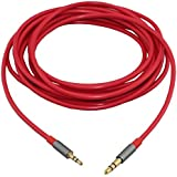 2.5mm Male to 3.5mm Male High Quality Stereo Audio Cable Aux Cable - 4.9 Feet (1.5 Meters)