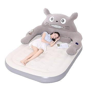 HOPELJ Cama Hinchable Doble Desmontable Respaldo Totoro ...