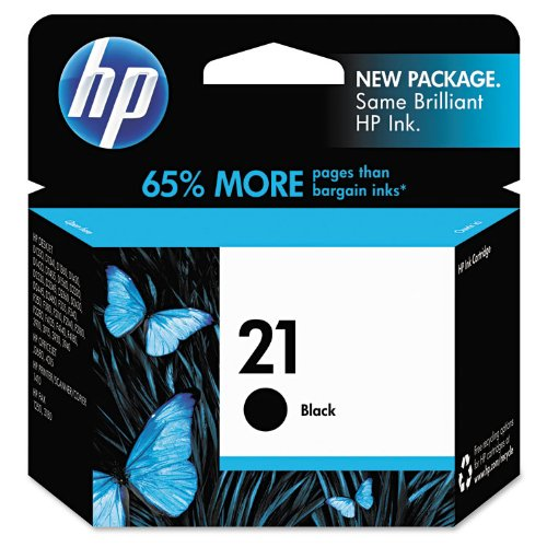 HP 21 | Ink Cartridge | Black | C9351AN