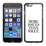 magazine protective hard sleeves - Planetar® ( Magazine Qutoe Black White Trouble Life ) Apple (5.5 inches!!!) iPhone 6+ Plus / 6S+ Plus Hard Printing Protective Cover Protector Sleeve Shell Case Cover