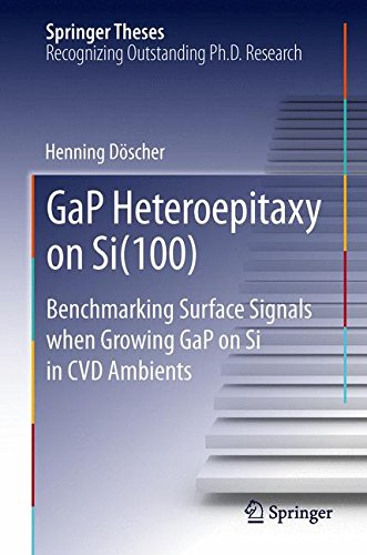 GaP Heteroepitaxy on Si(100): Benchmarking Surface Signals when Growing GaP on Si in CVD Ambients (Springer Theses)