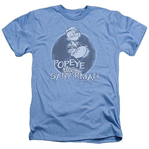(Popeye The Sailor Man Cartoon Original Sailorman Adult Heather T-Shirt Tee)