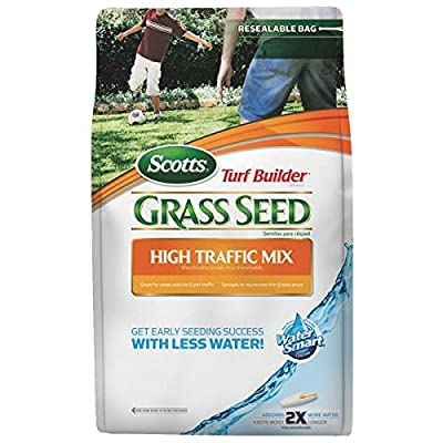 The Scotts Co. 18157 Turf Builder High Traffic Grass Seed 7lbs