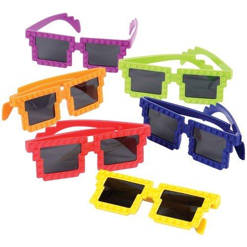 Block Mania Sunglasses Party Favor