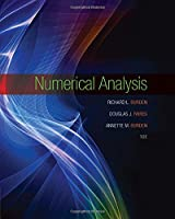 Numerical Analysis, 10th Edition Front Cover