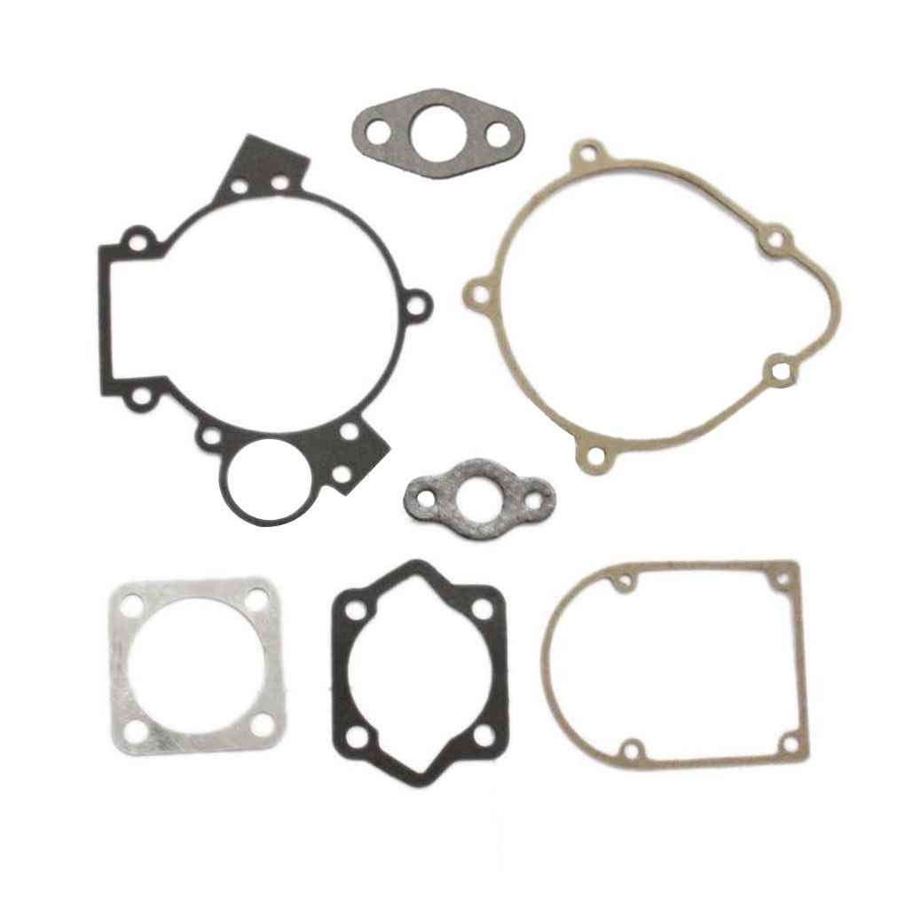 jinzuke 66cc 80cc Gasket Kit Set Accessory for Motorized Bicycle Push Bike Motor Engine Part 8mm