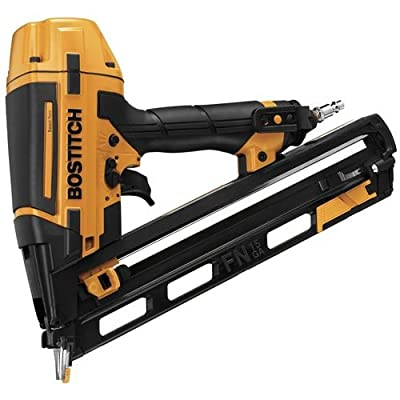 BOSTITCH BTFP72156 Smart Point 15GA FN Style Angle Finish Nailer Kit