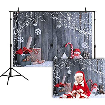 Photography Backgrounds Christmas 10X10feet Photo Backdrops Snowman Computer Pri