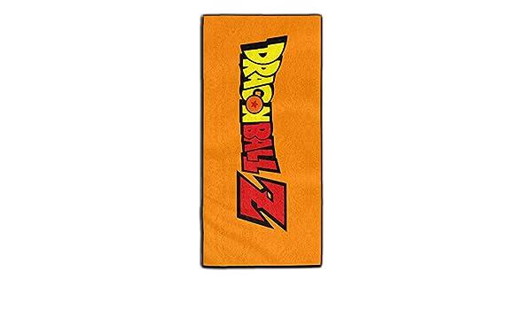 yaieia Dragon Ball Z Logo poliéster terciopelo toallas de mano de baño: Amazon.es: Hogar