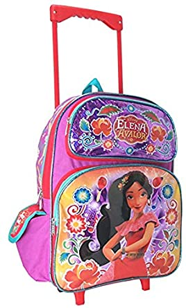 8c7287f80d81 Amazon.com | Princess Elena of Avalor 16 inches Large Rolling ...