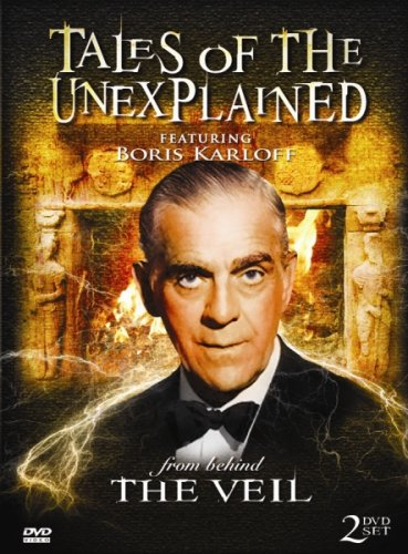 Vortex Media Dvd - Tales of the Unexplained - From Behind the Veil - 10 episodes featuring Boris Karloff