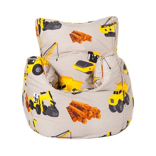 Ready Steady Bed® Diggers Design Children's Bean Bag Chair