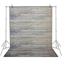 Emart 5x7 ft Photo Video Photography Studio Polyester Backdrop Background Screen (Vintage Wood Floor)