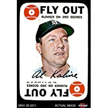 1968 Topps Game # 27 Al Kaline Detroit Tigers (Baseball Card) Dean's Cards 5 - EX Tigers