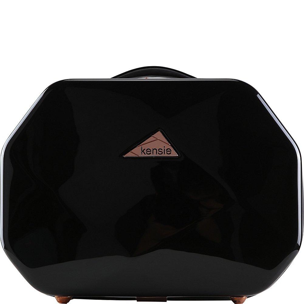 Kensie Luggage Gemstone 13'' Beauty Case (Black)