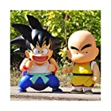 Japanese Anime Cartoon Dragon Ball Z DBZ Goku Kuririn PVC Figures Animation Christmas Collection Birthday Gifts