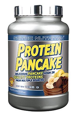 Scitec Nutrition - Proteína Panqueque Chocolate y Banana