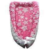 Double-Sided Baby nest, Baby Nest Pink, Newborn