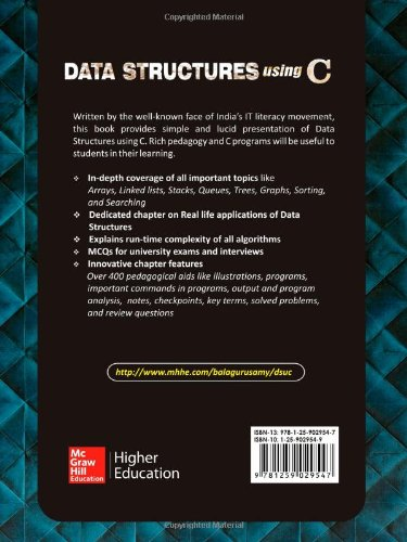 C Language And Data Structures By Balaguruswamy Pdf