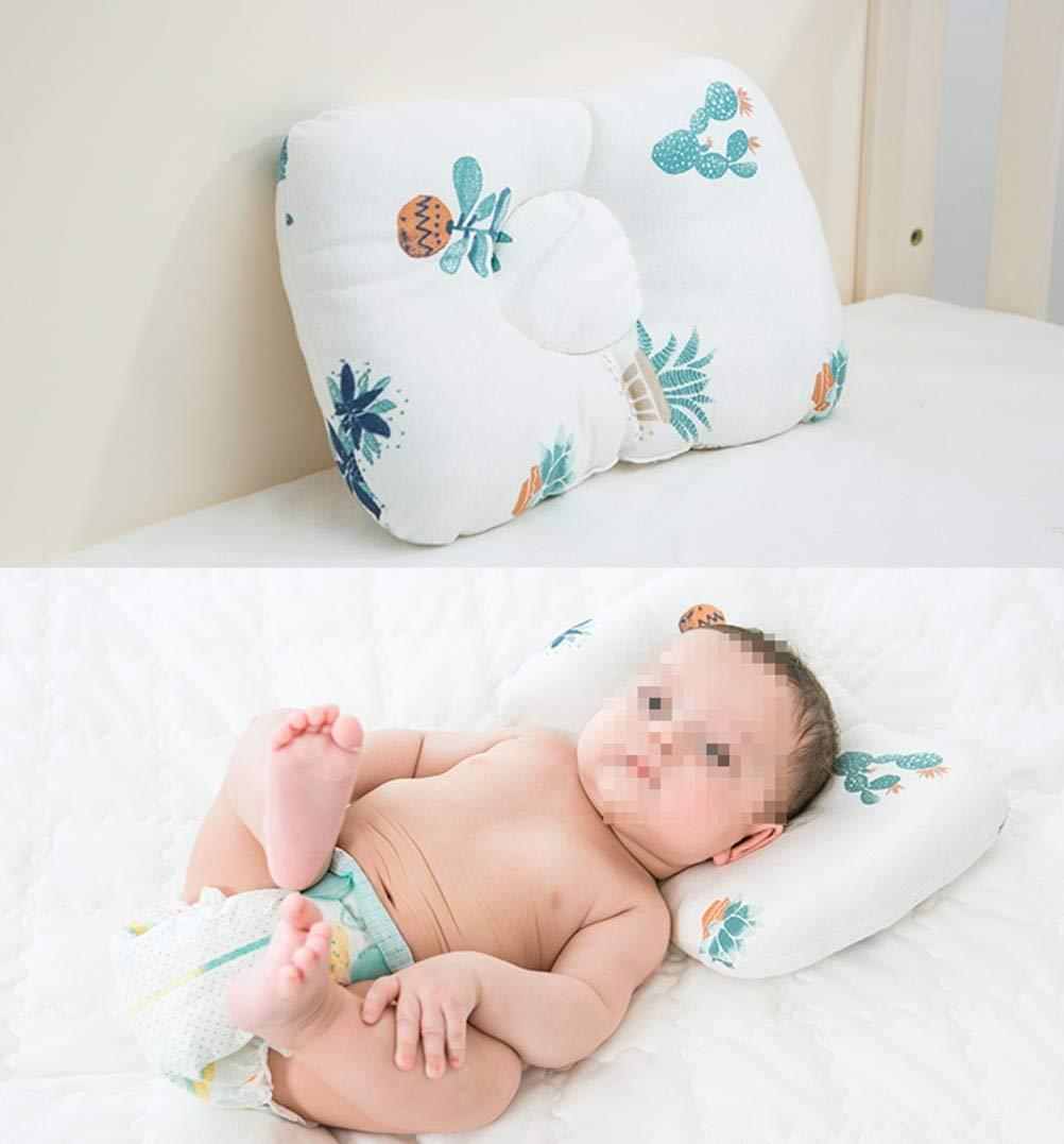 Orthopädisches Kissen für Säuglinge und Kleinkinder verhindert das Flacher-Kop